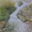 絵「小さな滝」