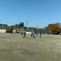 久しぶりのサッカーです。