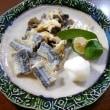 秋の煮物とホンビノス