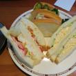 コメダ本店のサンドイッチ