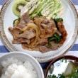 豚肉の粒マスタード焼き定食
