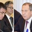 ロシア人は、席を憤然と蹴って交渉会場を後にする毅然とした相手との間に初めて真剣な話し合いを行う