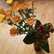 お花と和菓子