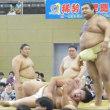 「高安、仙台巡業で迫力満点の三番稽古!阿武咲に活」とのニュースっす。