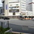 まち歩き下0908 京都 四条通は北緯35度  のモニュメント