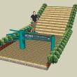 モネの庭階段改築完成イメージ