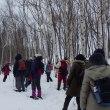 2月17日(日)ときわ自然散歩~かんじきで歩こう~