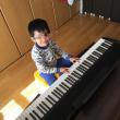 日曜日は朝からピアノ