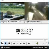 再開1831.2018/09/21 09:21:10クラクション(5秒)。
