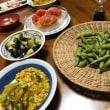 8日の夕食