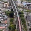 2017年8月14日(月)信夫山  烏ヶ崎展望デッキ (新幹線)
