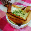 食パンの器(卵入り)