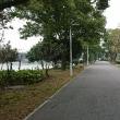 昼休み 時間が少し有ったので チョット観光  蘇州石湖です。