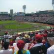 家族で野球観戦
