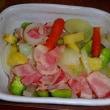 下仁田ネギを植えてズッキーニと胡瓜の初収穫