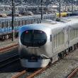 西武池袋線の新型特急車両「Laview」を小手指車輌基地で(埼玉・所沢)