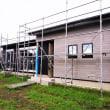 いすみ市岬町長者『 Nさんのご両親の小さな平家 』⌂Made in 外房の家。は、外装工事が概ね完了!&最終仕上工程に入っていきます!