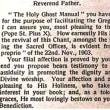 2019年2月10日 御公現後第五主日の説教 ワリエ神父様「教会で歌うことは敬虔な行い」