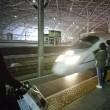 昆山駅から 新幹線に乗りました。寒かった~!!