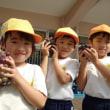 おれんじ 5歳児 ぶどう収穫☆触れ合い遊び