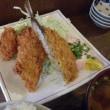 魚政宗ってお店でカキフライとアジフライを食べてきた・・・