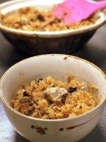 イシモチの炊き込みご飯