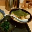 味玉つけ麺・ほうれん草付き(鈴舎)