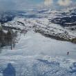 石打丸山スキー場を滑る