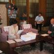 【0709/121:栗東、RD社産廃処分場】住民団体、深堀による有害物質の除去を求め、知事に署名提出