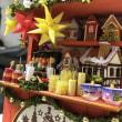 キットで作ったクリスマスマーケット(6コのうちの2つ)
