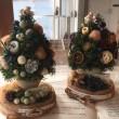 flaughさんでクリスマスツリー