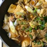 今夜はCook Do 味しみ肉豆腐