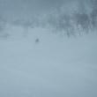 風雪の湯殿山 2019.01.06