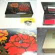 漆器:輪島塗硯箱 / 出雲特産八雲塗蓋付螺鈿入り小物入れ
