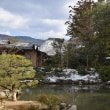 依水園 冬景色