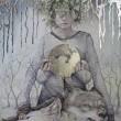 Hope Doe (ホープ ドゥ) -ROOTS-油絵&鉛筆画展7.20〜7.29 会期中の-23日(日)、25日(火)休 -22日(土)15時パーティ-