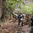 ⑪ 七国見山登山 : とり付きから急登が始まった   UP3日目