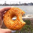 単に驚くスパゲッティドーナッツ