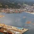 船川の今昔 第一船入場防波堤とおばこ丸