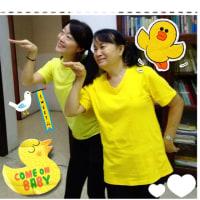 Chicken dance( ̄∇ ̄) again!