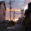 台風12号の去った朝