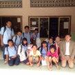 カンボジア孤児院にNPO団体の方々が訪問して下さいました
