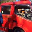 消防車体験