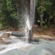 井戸水が出ました😁