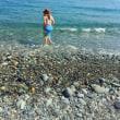 ビーチでお散歩♪ ~ヒスイ海岸~