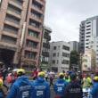 東京マラソンの応援