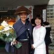 幼稚園以来の演劇で『さすらいの俳人・阪口芭蕉』役を演じる