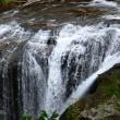 恵庭 白扇の滝