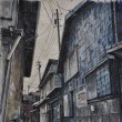師崎の裏道