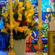 ドイツで購入した新しい燭台です。聖ピオ十世会の大阪の聖母の汚れなき御心聖堂に設置しました。